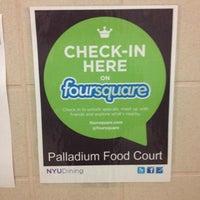 Photo taken at NYU Palladium Food Court by David Z. on 10/6/2012