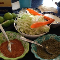 Photo taken at Pozole Zirahuen by Luisa P. on 6/13/2013