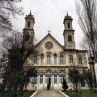 Photo taken at Hagia Triada Greek Orthodox Church by Fidel J. on 2/21/2013