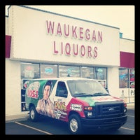 Photo taken at Waukegan Liquors by Dex on 4/6/2013
