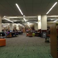 Photo taken at Norlin Library - University of Colorado at Boulder by Matt D. on 12/18/2012