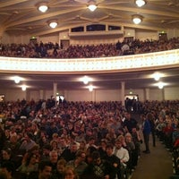 Photo taken at Macky Auditorium by Matt D. on 10/14/2012
