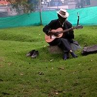 Photo taken at Parque De La Independencia by Maria M C. on 11/16/2012