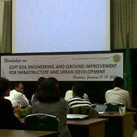 Photo taken at Universitas Katolik Parahyangan (UNPAR) by Agatha A. on 1/17/2013