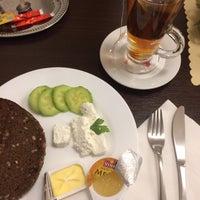 Photo taken at Hotel Edvards Riga by Merve K. on 12/30/2016