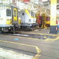 Photo taken at Tw-Oostende werkplaats NMBS by V M. on 2/25/2013