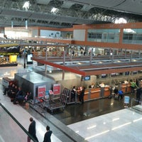 Photo taken at Domestic Departures by Murat U. on 11/18/2012