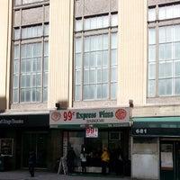 Photo taken at 99¢ Pizza Spot by J Darren H. on 4/3/2014