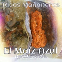 Photo taken at el maiz azul by Clyde M. on 8/15/2014