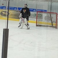 Photo taken at Lou & Gib Reese Ice Arena by Jennifer A. on 1/2/2013