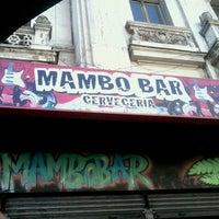 Photo taken at Mambo bar by Estefita A. on 12/31/2012