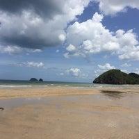 Photo taken at Bang Chak Beach by ChaMind on 6/12/2016
