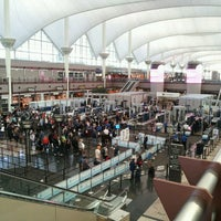 Photo taken at Denver International Airport (DEN) by Nora S. on 11/3/2013