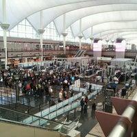 Photo taken at Denver International Airport (DEN) by Nora S. on 11/3/2013