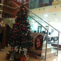 Photo taken at Four Seasons Hotel Mehmet&Huseyin Kuafor by Shams on 12/15/2012