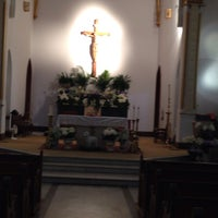 Photo taken at Sacred Heart Catholic Church by Megan H. on 4/25/2014