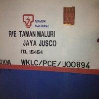 Photo taken at P/E Tmn Maluri Jaya Jasco by Boon Tiong O. on 12/27/2012