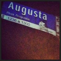Photo taken at Rua Augusta by Camilla G. on 3/16/2013