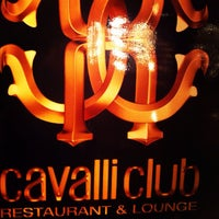 Photo taken at Cavalli Club by Tatyana R. on 12/8/2012