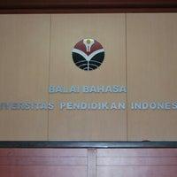 Photo taken at Balai Bahasa UPI by Endang T. on 8/15/2013