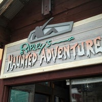 Photo taken at Ripley's Haunted Adventure by Martha Sue C. on 3/1/2013