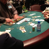 Photo taken at Poker Room at Foxwoods Resort Casino by Adam B. on 3/2/2013
