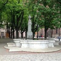 Photo taken at Münsterplatz by Daniel B. on 5/20/2013
