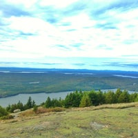 Photo taken at Cadillac Mountain by Daniel B. on 10/9/2012
