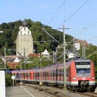 Photo taken at Bahnhof Herrenberg by Daniel B. on 9/6/2013