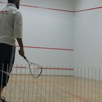 Photo taken at Squash Court @ Reem Plaza by Huzeifa M. on 10/4/2013