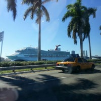 Photo taken at Port Of Miami - Carnival Cruise by Meira K. on 2/17/2013