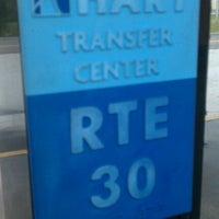 Photo taken at HART Northwest Transfer Center by Justin M. on 10/9/2012