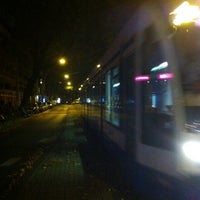 Photo taken at Tramhalte Van Woustraat by Guillaume L. on 10/23/2013