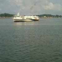 Photo taken at Sri Bintan Pura Ferry Terminal by Joni T. on 7/29/2013