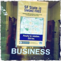 Photo taken at SFSU - Business Building by Aaron A. on 1/25/2013