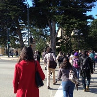 Photo taken at Top Of Campus - SFSU by Aaron A. on 12/13/2012