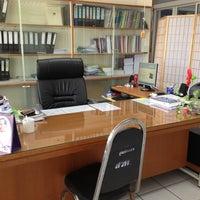 Photo taken at อาคาร 16 วิศวกรรมอุตสาหการ by จิตติวัฒน์ น. on 12/1/2012