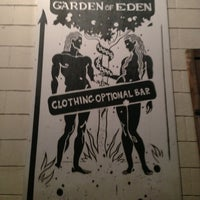 Photo taken at Garden Of Eden Bar by Evelyn S. on 1/5/2013
