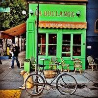 Photo taken at La Boulangerie de San Francisco by mandy a. on 12/3/2012