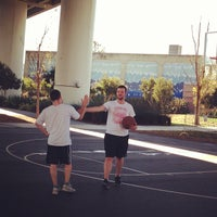 Photo taken at Berry Basketball Courts by Anand I. on 3/1/2013