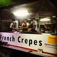 Photo taken at Crepes Bonaparte Truck by Tim M. on 10/12/2013