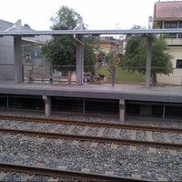 Photo taken at Metro Valparaíso - Estación Villa Alemana by Marco O. on 11/7/2012