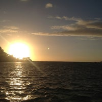 Photo taken at Ferry Boat Caiobá - Guaratuba by Larissa B. on 1/21/2013