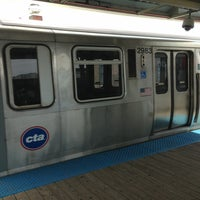 Photo taken at CTA - Wilson by Brian C. on 5/26/2013