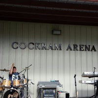 Photo taken at Cockram Arena by Yancey F. on 6/22/2013