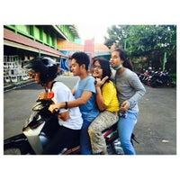 Photo taken at SMAN 58 Jakarta by Ester P. on 4/26/2015