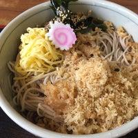 Photo taken at そば処 巴屋 by googoogammo on 7/13/2015