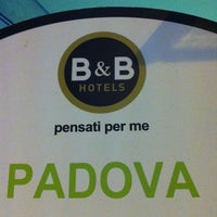 Photo taken at B&B Hotel Padova by Marcello C. on 3/18/2013