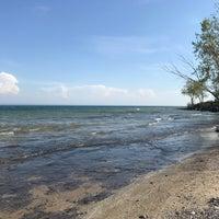 Photo taken at Lake Erie by Christoph M. on 5/18/2017