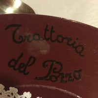 Photo taken at Trattoria Del Pozzo by Christoph M. on 4/10/2015